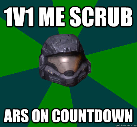 1v1 me scrub ARs on COUNTDOWN
