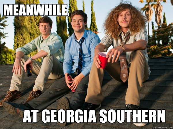 Meanwhile, At Georgia Southern