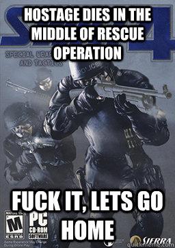 2b66e227763d16ee859f97d95e4ca6de16d7df5fa744172bed0da225c329b653 swat 4 logic memes quickmeme,Swat Meme