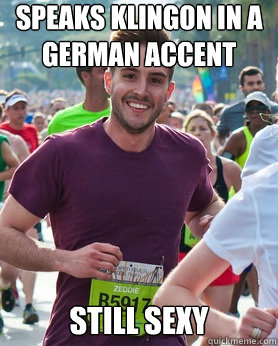 German accent sexy