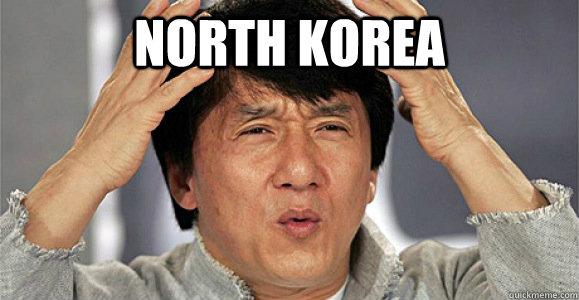 North Korea  - North Korea   Confused Jackie Chan