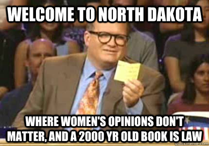 What are the minor dating laws in North Dakota