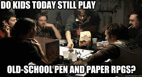 pen and paper rpg memes