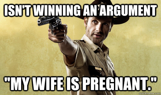 Isn't winning an argument