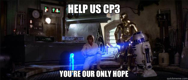 Help us cp3 you're our only hope - Help us cp3 you're our only hope  Misc