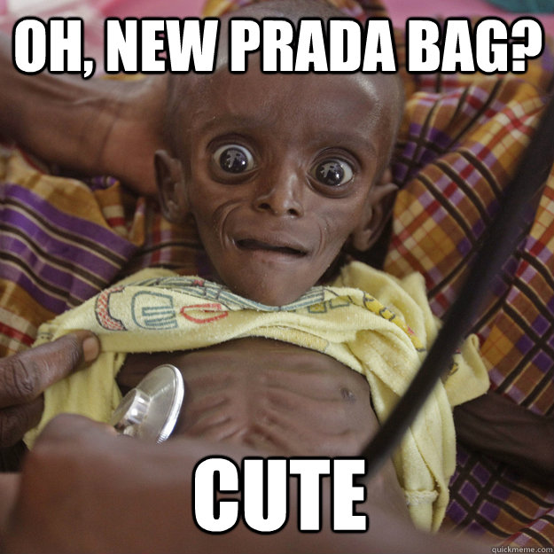 Oh, new Prada bag? cute
