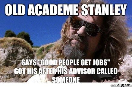 Old Academe Stanley Says