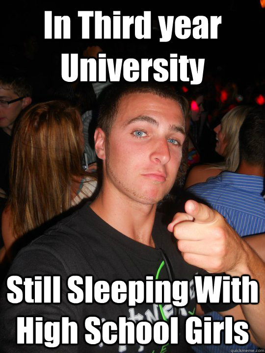 Sleeping In High School