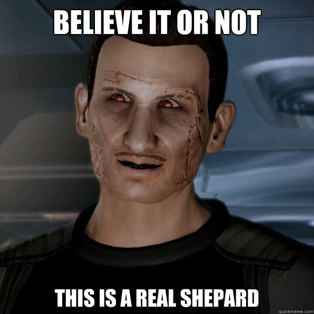 BELIEVE IT OR NOT This is a Real Shepard  Creepy Shepard
