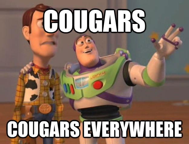 COUGARS COUGARS EVERYWHERE - COUGARS COUGARS EVERYWHERE  Buzz Lightyear