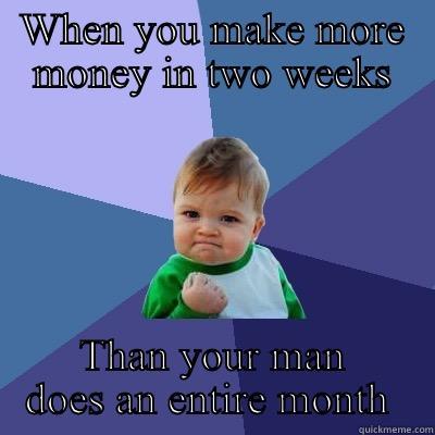 making more money than your boyfriend