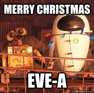 Merry christmas Eve-a - wall-e owl - quickmeme