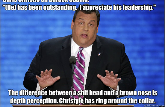 Chris Christie on Barack Obama: