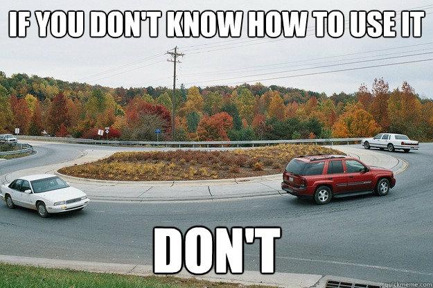Resultado de imagem para Roundabout meme