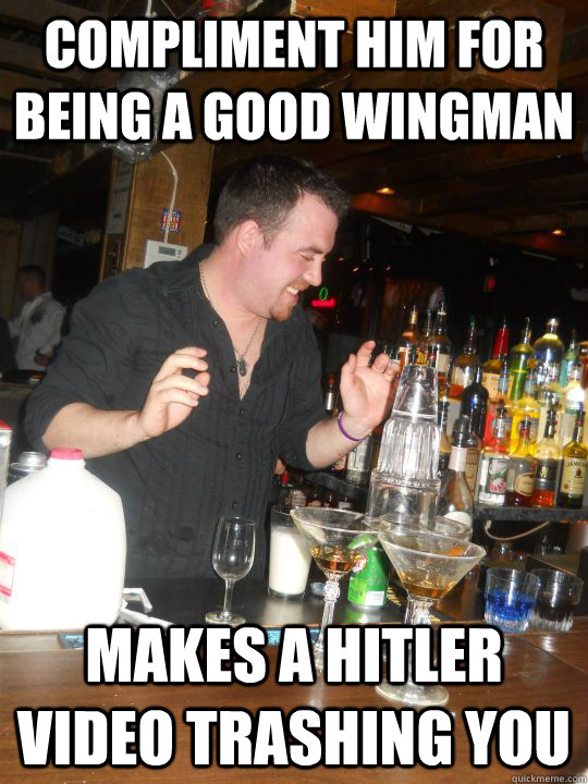 what makes a good wingman