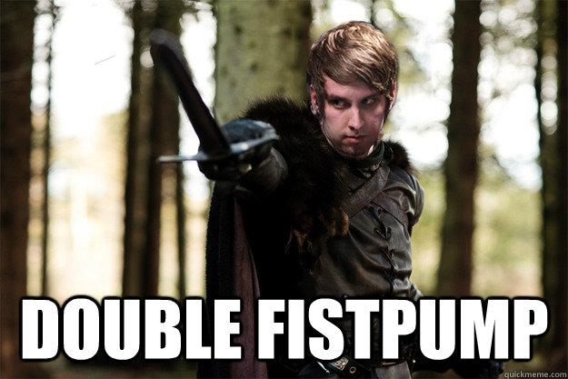 Double fistpump