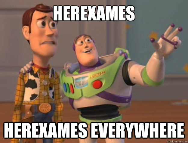 Herexames Herexames everywhere - Herexames Herexames everywhere  Buzz Lightyear