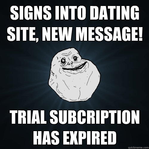 Generic dating site message