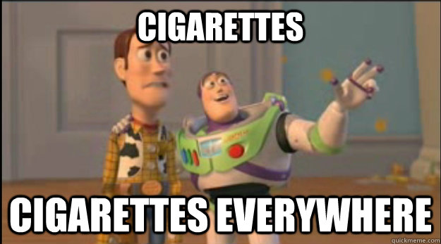 Cigarettes Cigarettes everywhere - Cigarettes Cigarettes everywhere  Misc
