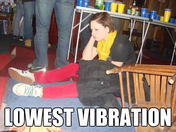 lowest vibration