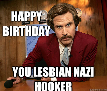 Lesbians happy birthday comments