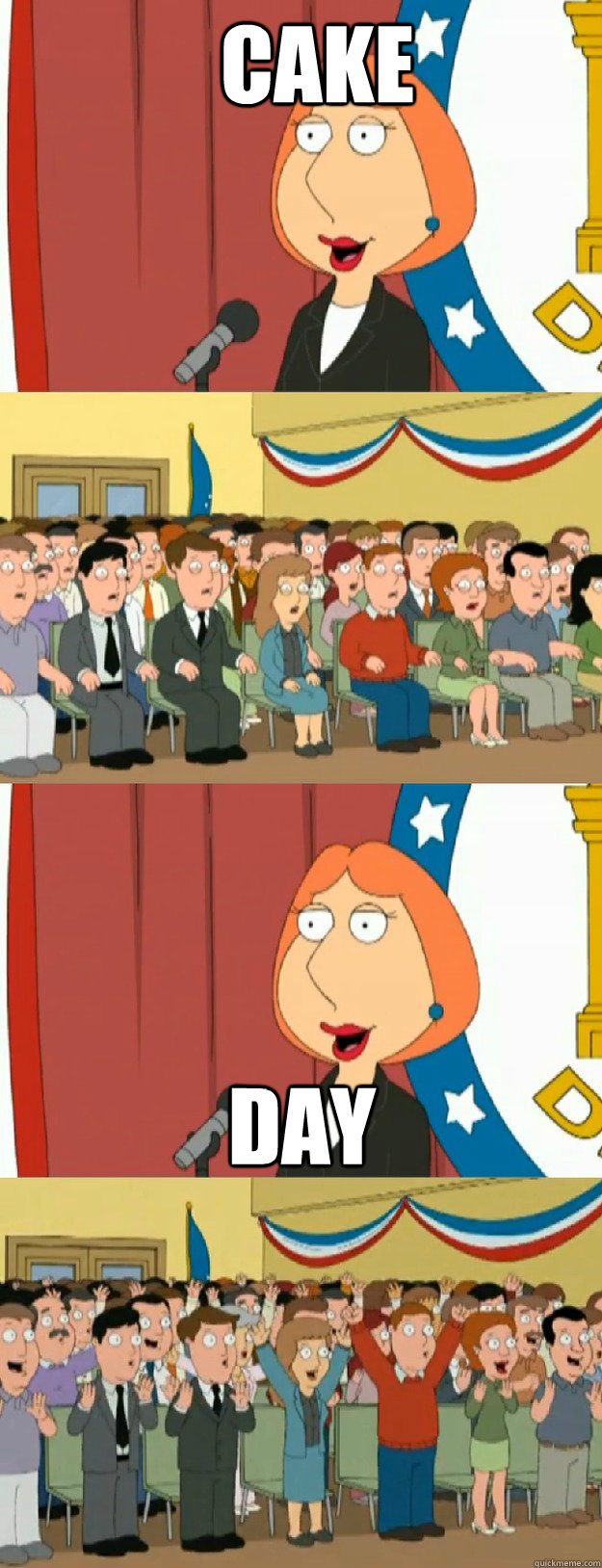 cake day - cake day  Lois Griffin