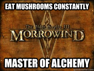 Eat mushrooms constantly Master of Alchemy - Eat mushrooms constantly Master of Alchemy  Misc