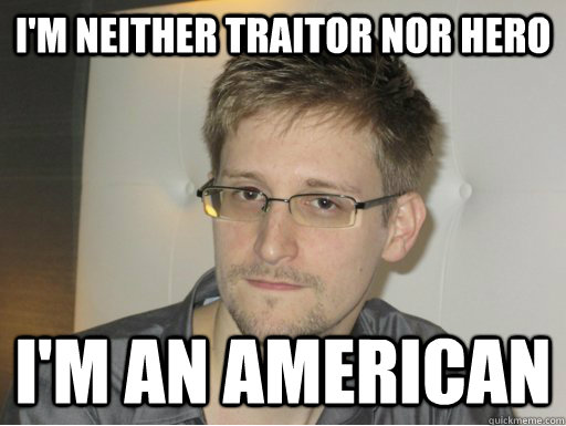 I'M NEITHER TRAITOR NOR HERO I'M AN AMERICAN - I'M NEITHER TRAITOR NOR HERO I'M AN AMERICAN  American