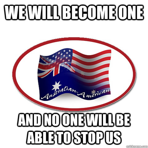 We will become one and no one will be able to stop us - We will become one and no one will be able to stop us  Our flag
