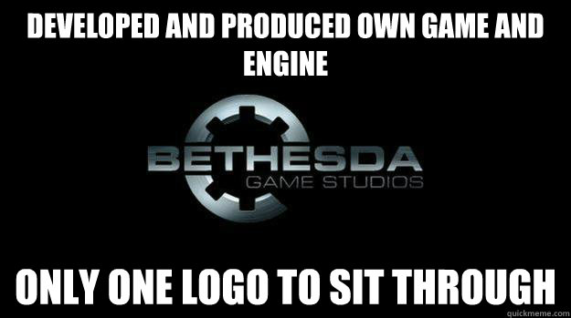 developed and produced own game and engine only one logo to sit through - developed and produced own game and engine only one logo to sit through  Misc