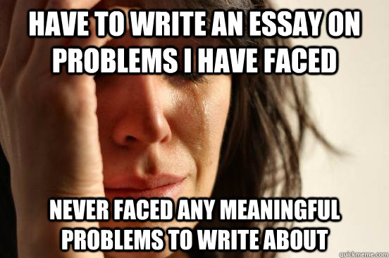 problems i face as a writer