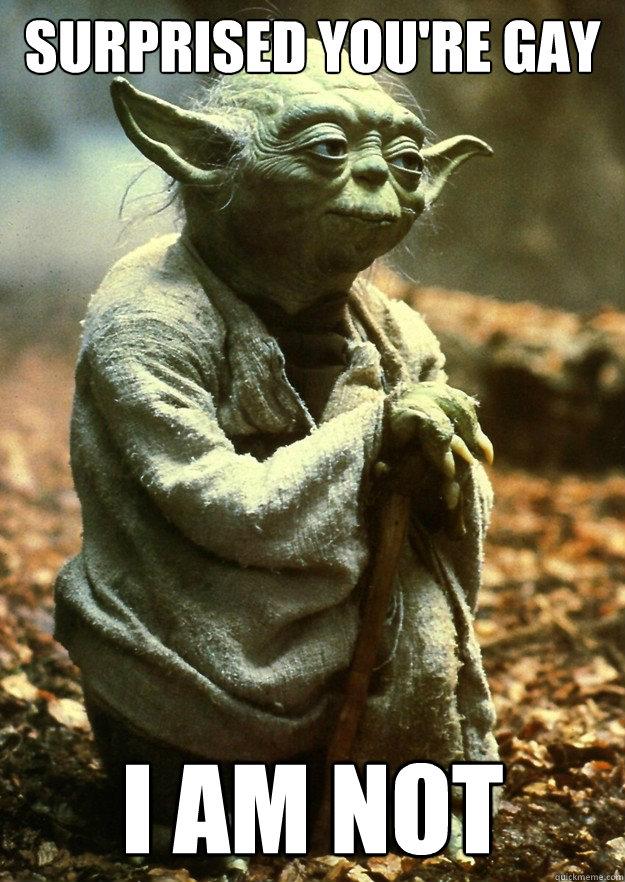 Yoda Gay 57