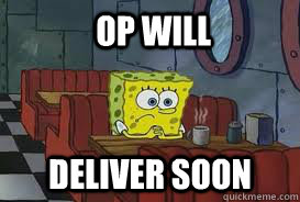 op will deliver soon