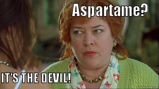 Image result for aspartame meme
