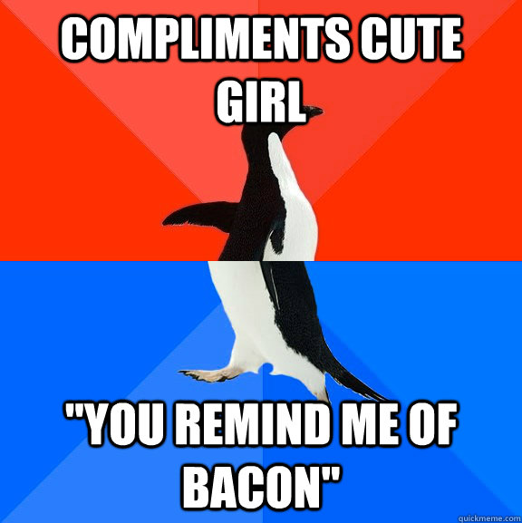 compliments cute girl