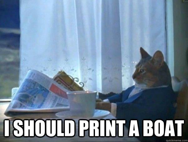 2ff6b072a8ff644986932853aee7c1703ac1e5ce261b67567b5bc1bc79fe5a79 i should print a boat morning realization newspaper cat meme