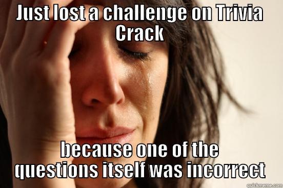 Trivia Crack is Life - quickmeme