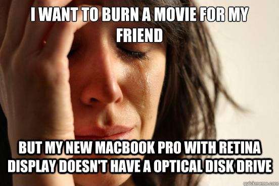 how do i burn a cd on a macbook pro