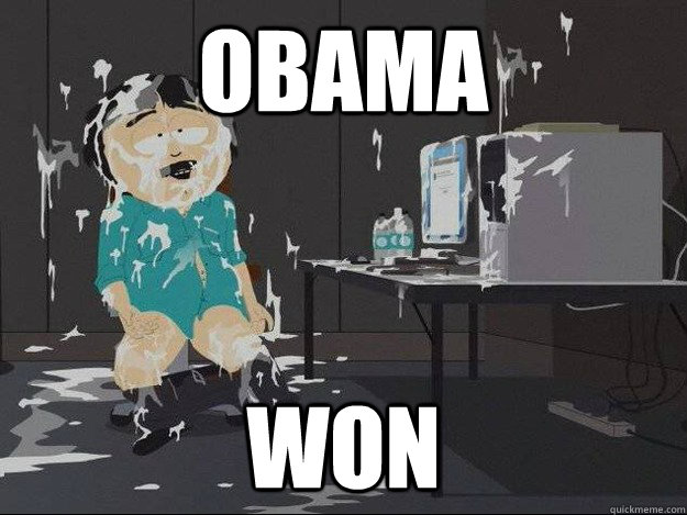 Obama Won - Obama Won  Masterbatory Randy Marsh
