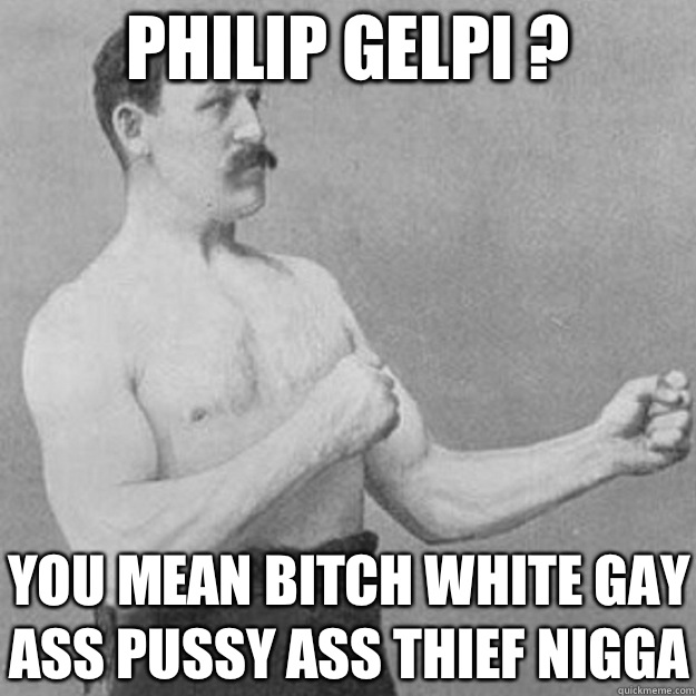 White gay bitch