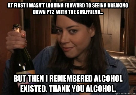 alcoholic girlfriend