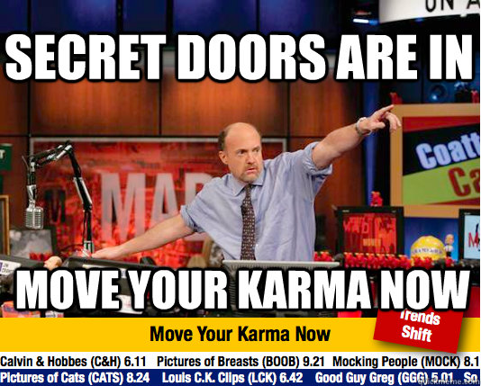 secret doors are in move your karma now - secret doors are in move your karma now  Mad Karma with Jim Cramer