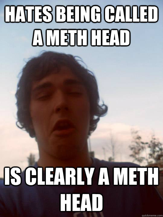 Hates being called a meth head Is clearly a meth head  Meth head mccartney
