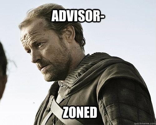 Advisor- zoned