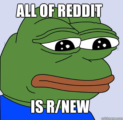 is r/new All of Reddit