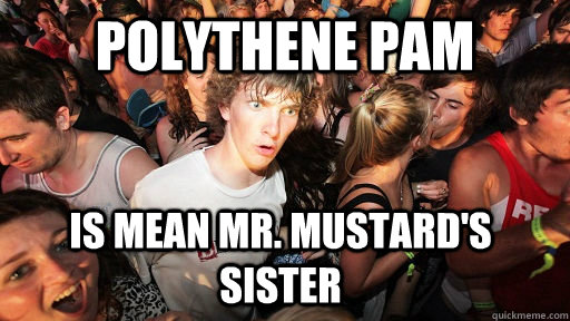 Polythene Pam is Mean Mr. Mustard's Sister - Polythene Pam is Mean Mr. Mustard's Sister  Sudden Clarity Clarence