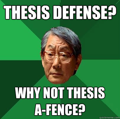 Thesis Defence