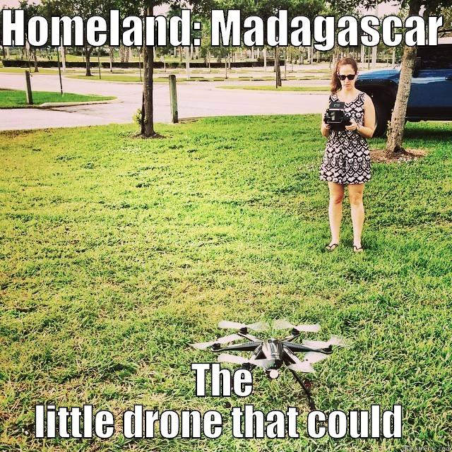 HOMELAND: MADAGASCAR  THE LITTLE DRONE THAT COULD  Misc