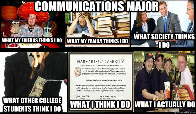 Communications what are major