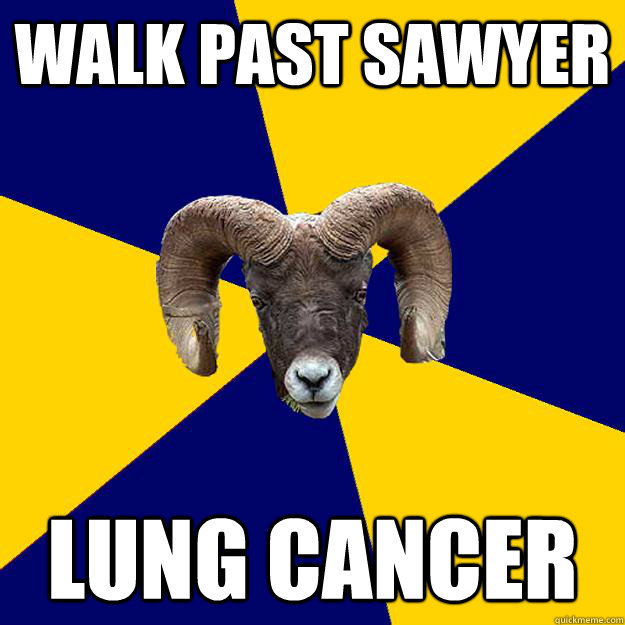 walk past sawyer lung cancer  Suffolk Kid Ram